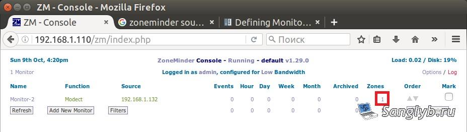 Установка и настройка zoneminder на Ubuntu Linux  Делаем