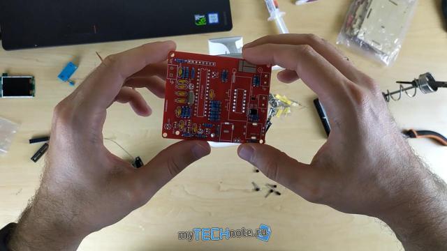 Транзистор тестер M328 – сборка и обзор [DIY] - дальше покрупнее