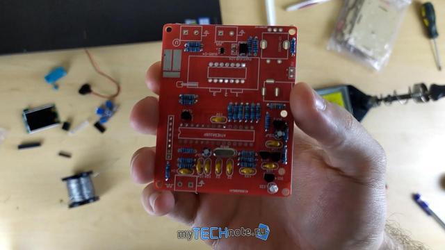 Транзистор тестер M328 – сборка и обзор [DIY] - очередь за транзисторами