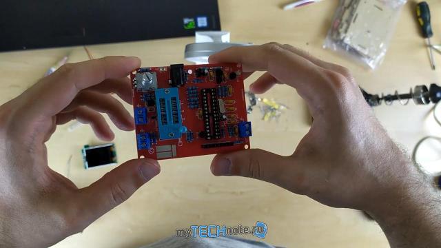 Транзистор тестер M328 – сборка и обзор [DIY] - в конце - крупные детали