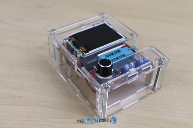 Транзистор тестер M328 – сборка и обзор [DIY] - в сборе всё весьма симпатично
