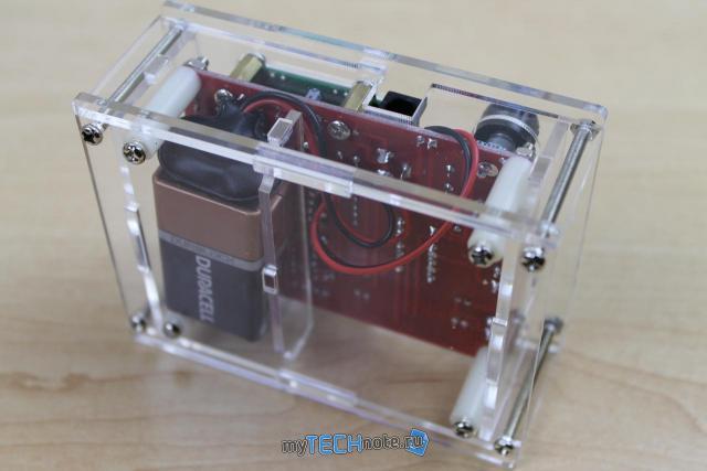 Транзистор тестер M328 – сборка и обзор [DIY] - в сборе все симпатично