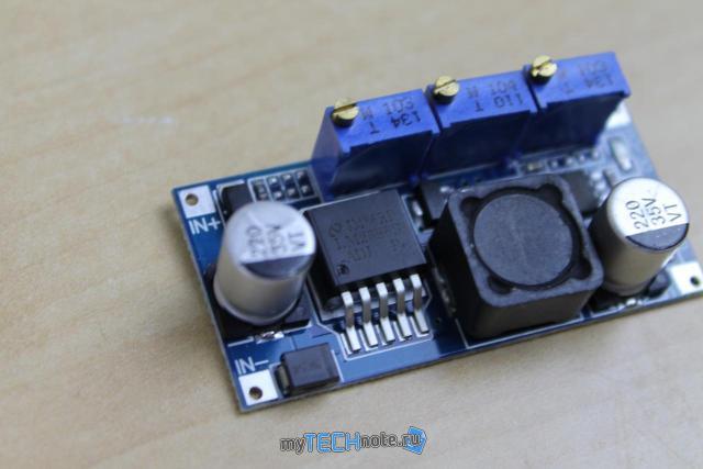 Тюнинг детской радиоуправляемой машинки (переделка на Li Ion аккумуляторы) - понижающий преобразователь