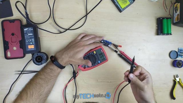 Тюнинг детской радиоуправляемой машинки (переделка на Li Ion аккумуляторы) - настройка преобразователя