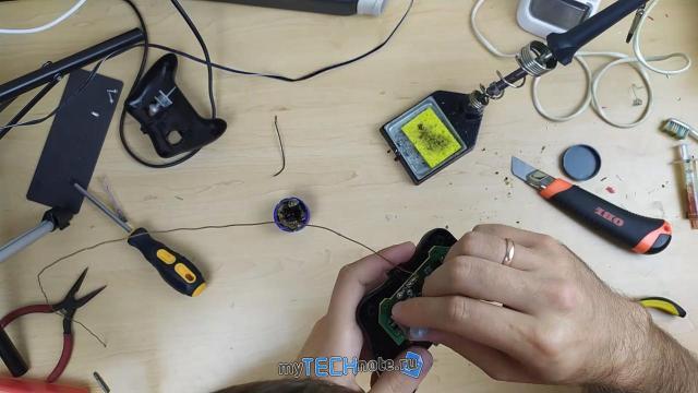 Тюнинг детской радиоуправляемой машинки (переделка на Li Ion аккумуляторы)