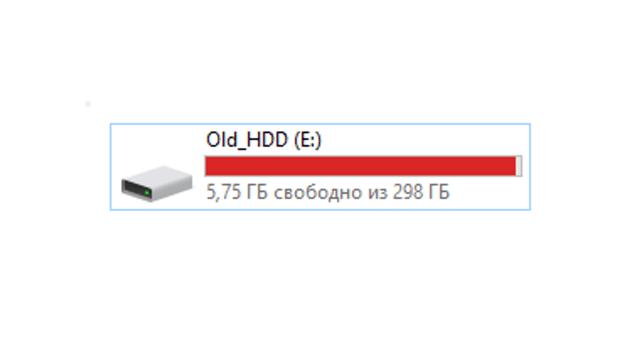 При удалении файлов место на жестком диске не освобождается [deduplication]