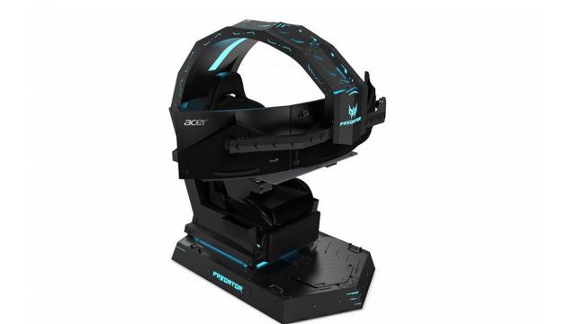 Acer представила игровое кресло Predator Thronos